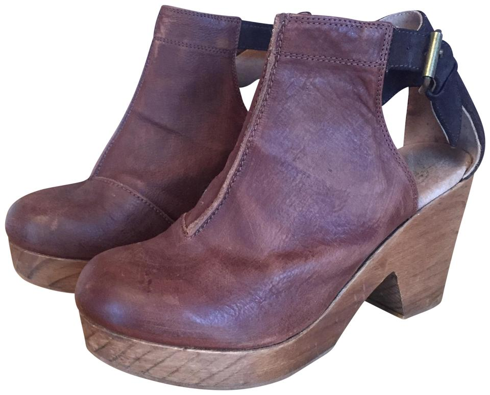 Free People Chocolate Amber 7.5-8) Orchard Clog (Us 7.5-8) Amber Boots/Booties d627ec