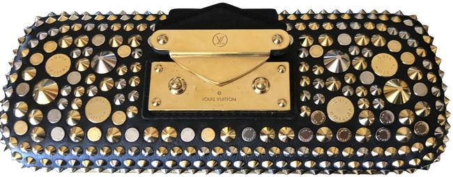 Item - Handbag Gold and Silver Material Clutch