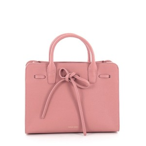 Mansur Gavriel Leather Tote in pink