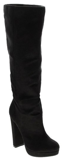 Michael Antonio black suede Boots