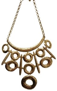 Chico's Gold chunky necklace