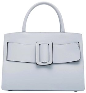 Boyy Bobby Satchel Tote in Pale Blue Convertible
