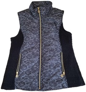Marc New York Lace Gold Chic Luxury Vest