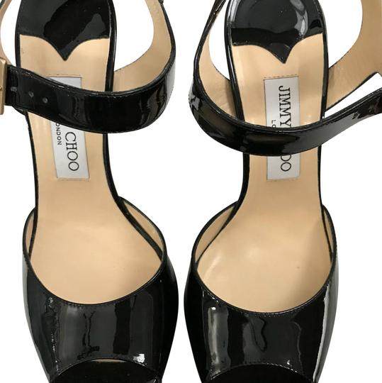 Jimmy Choo black Platforms