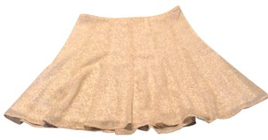 Michael Kors Mini Skirt Tan and White