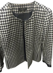 Tahari Arthur S Levine Black and white Jacket