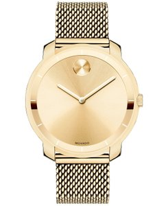 Movado Movado Bold Gold Ion-plated Stainless Steel Ladies Watch 3600242