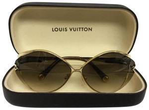 aa7bb8d50ab Gold Louis Vuitton Sunglasses - Up to 70% off at Tradesy