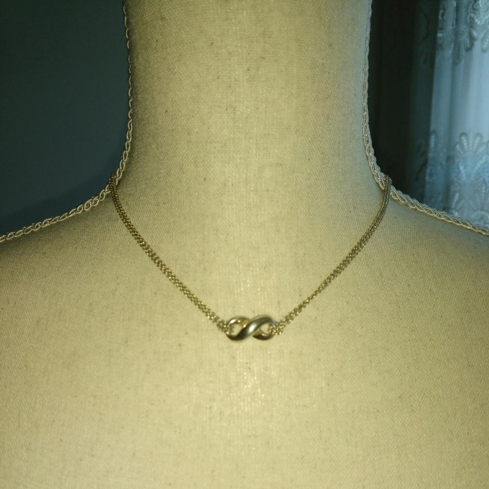 e55d45473 Tiffany & Co. Silver Sterling Infinity Necklace - Tradesy