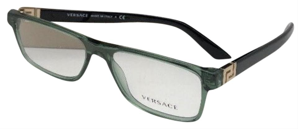 e69a2f9a9a9c0 Versace New VERSACE Rx-able Eyeglasses VE 3211 5144 53-17 Green   Black ...