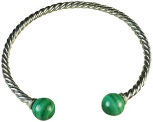 David Yurman David yurman Solari Bracelets with Green Malachite & Diamonds