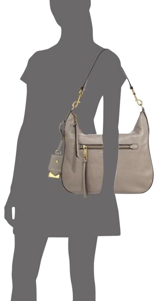3aaad8f27 Marc Jacobs Recruit Mink - Neutral Leather Hobo Bag - Tradesy