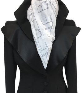 Christian Lacroix Christian Lacroix Black Wool Blend Jacket