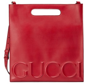 Gucci Tote in Hibicus Red
