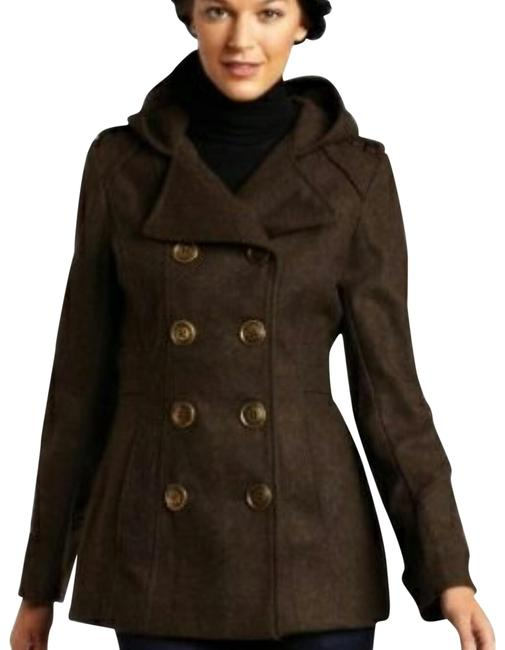 Item - Olive Army Green Small Pleated Bum Jacket Coat Size Petite 6 (S)