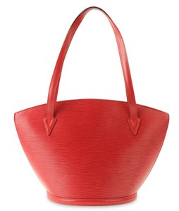 Louis Vuitton Vintage Tote in Red