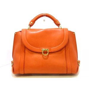 Salvatore Ferragamo Satchel in orange