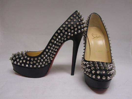 Christian Louboutin Red Bottoms Black Pumps