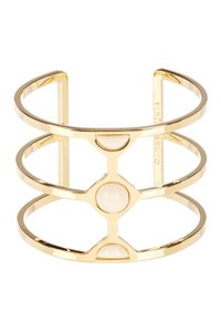Vince Camuto Vince Camuto Milky Resin Cutout Cuff Gold