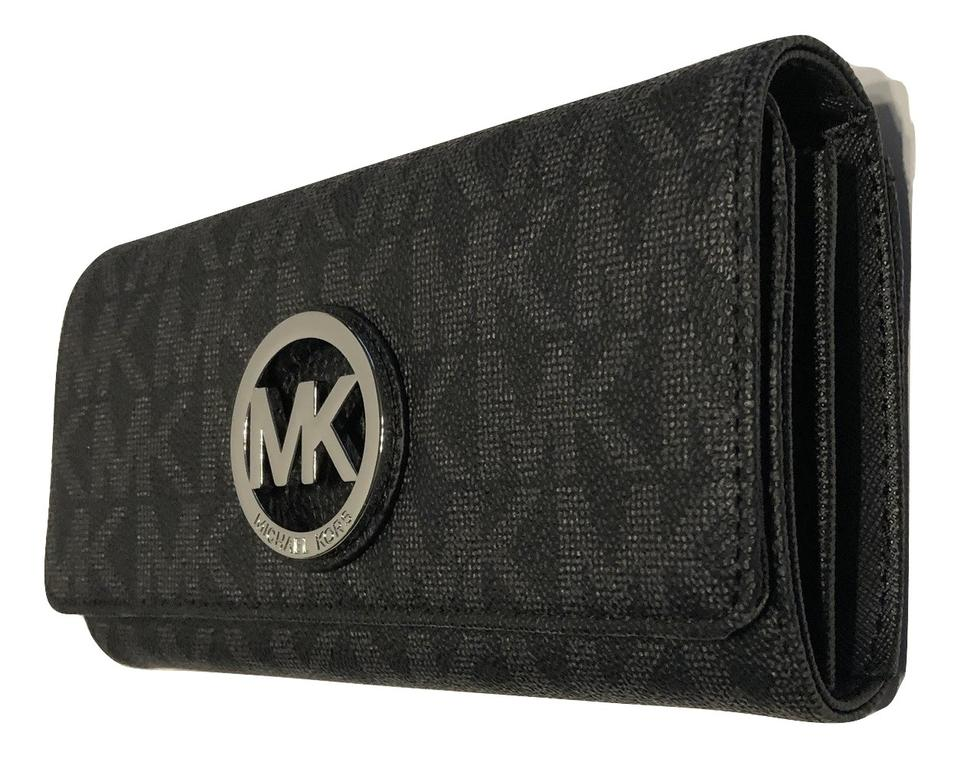 40237afbac7a Michael Kors Michael Kors Fulton Flap Continental Clutch Wallet Image 0 ...