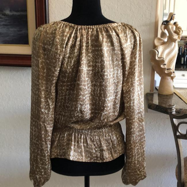 Michael Kors Collection Top gold & cream Image 1
