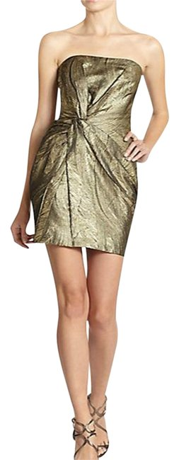 Preload https://item3.tradesy.com/images/haute-hippie-twist-front-metallic-silk-lined-gold-small-4-6-above-knee-cocktail-dress-size-4-s-2284572-0-6.jpg?width=400&height=650