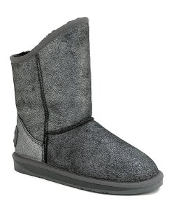 Australia Luxe Collective Crackle Black/Silver Boots