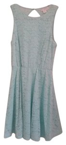 Cotton On short dress light sea foam green Eyelet Summer on Tradesy