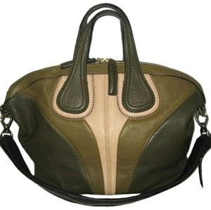 Givenchy Goat Small Nightingale Leather Tricolor Tote in Multi