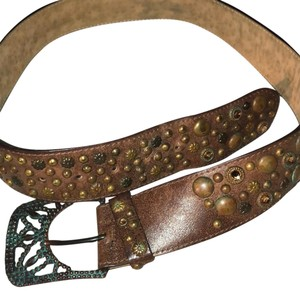 Streets Ahead Streets Ahead Swarovski and Studded Women's Belt