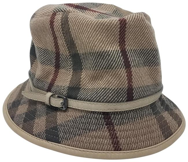Item - Beige Red Brown Bucket L Light Multicolor House Check Hat