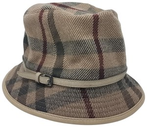 Burberry Light brown multicolor Burberry House Check bucket hat L sz