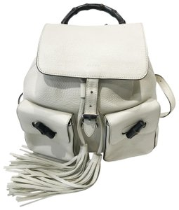 White Gucci Backpacks - Up to 90% off at Tradesy 7fd8126a235a5