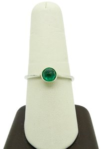 PANDORA Pandora Ale 925 May Droplet Royal Green Crystal Sterling Sliver Ring