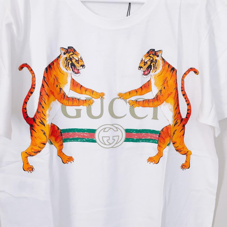 c4059e87 Gucci With Tiger T-shirt Tee Shirt Size 0 (XS) - Tradesy
