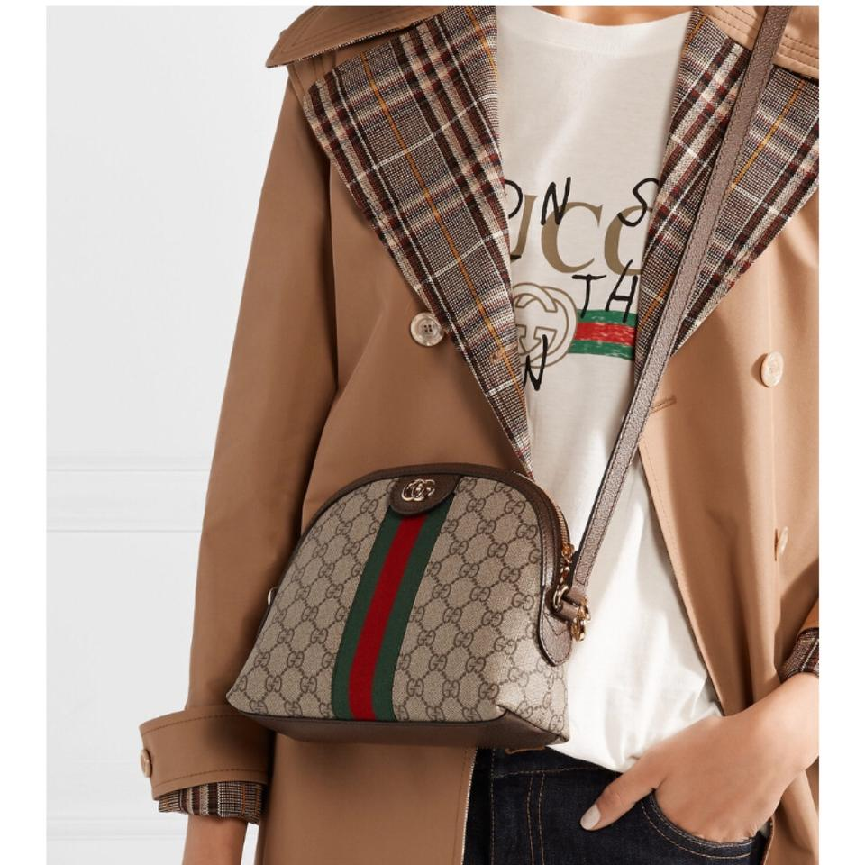 c7500b76ef18cd Gucci Shoulder Ophidia Gg Small Cross Body Bag - Tradesy