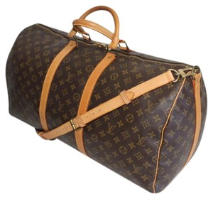Louis Vuitton Keepall 45 Black Multi Color Canvas Weekend Travel Bag ... c8ac8bed61508