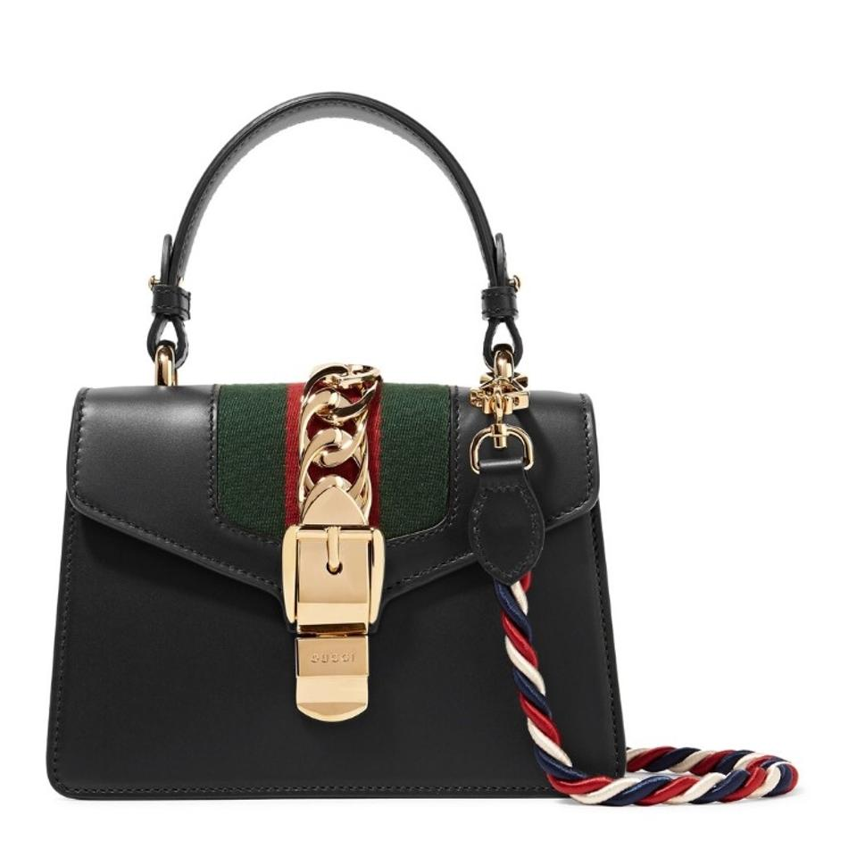 Gucci Sylvie Leather Mini Cross Body Bag - Tradesy 3321051372e57