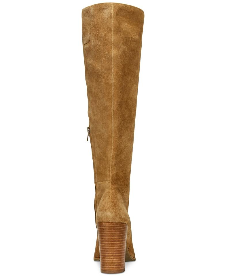 91298b91263 Kenneth Cole Leather Tall Classy Elegant Nude Desert Boots Image 2. 123