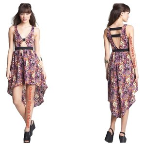 Lush short dress Floral Multi on Tradesy