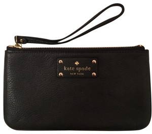 Kate Spade Wristlet in dark gray