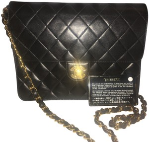 Chanel Flap Lambskin Vintage Quilted Shoulder Bag