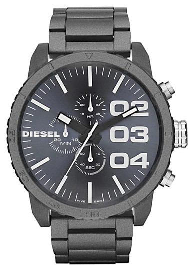 Diesel Diesel Men's Franchise Matte Charcoal Grey Stainless Steel Chronograph Watch DZ4269