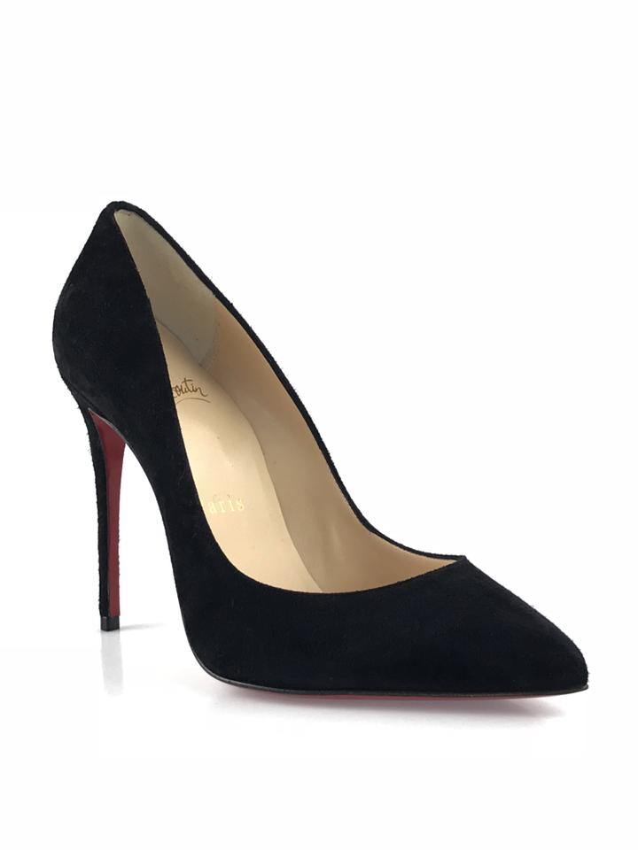 best service b2e7c 72f8b Christian Louboutin Black Pigalle Follies 100 Suede Pumps Size EU 35  (Approx. US 5) Regular (M, B) 46% off retail