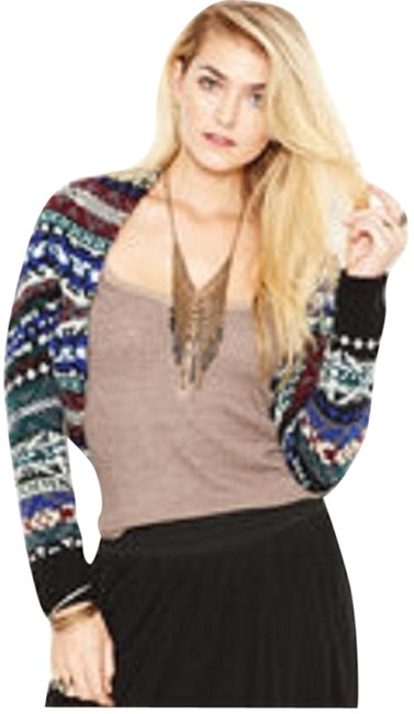 Preload https://img-static.tradesy.com/item/2284996/free-people-nwt-fairisle-shrug-sweater-0-1-650-650.jpg