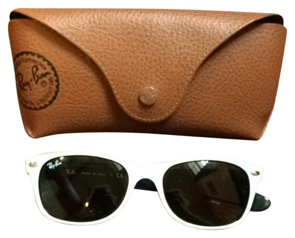 1f02f62f9b Ray-Ban White Black New Wayfarer Classic and Rb2132 Sunglasses - Tradesy