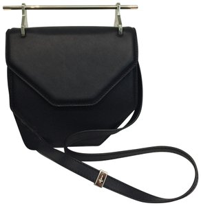 M2Malletier Signature Leather Hardware Iconic Shoulder Bag