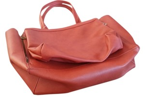 Free People With Tags Tote in Rust