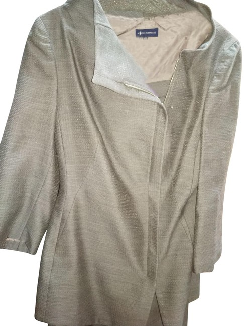 Item - Grey 42 Made In Italy Pant Suit Size 8 (M)