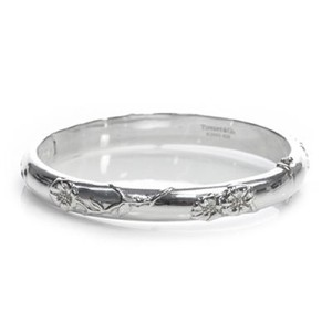 Tiffany & Co. Tiffany Nature Collection Rose Bangle